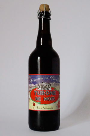 photo bière turone de noël 75cl