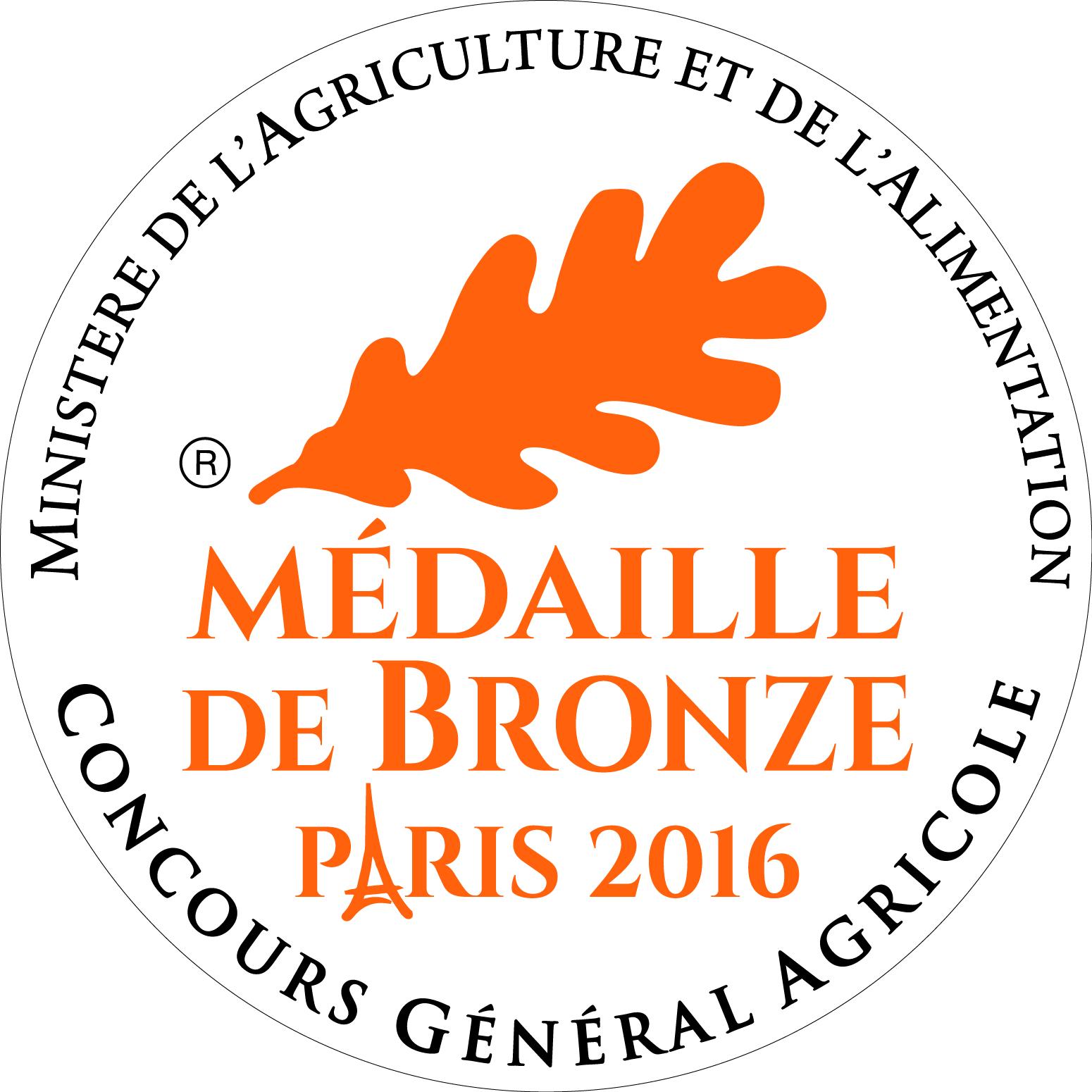 Medaille Bronze 2016 CMJN